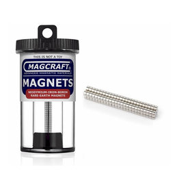 MagCraft Rare Earth Magnet 0.125 x 0.0625 100ct