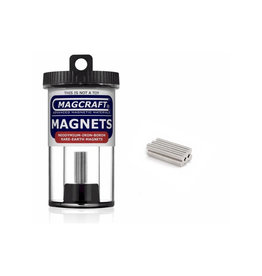 MagCraft Rare Earth Magnet 0.125x 0.03125 150ct