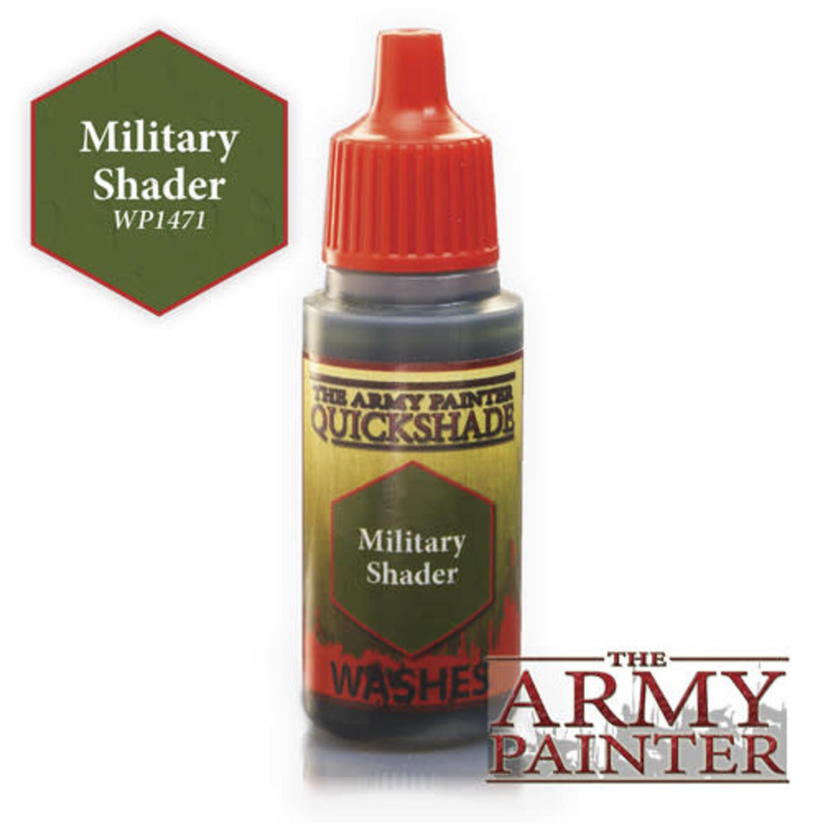 Army Painter APWP Military Shader 18ml