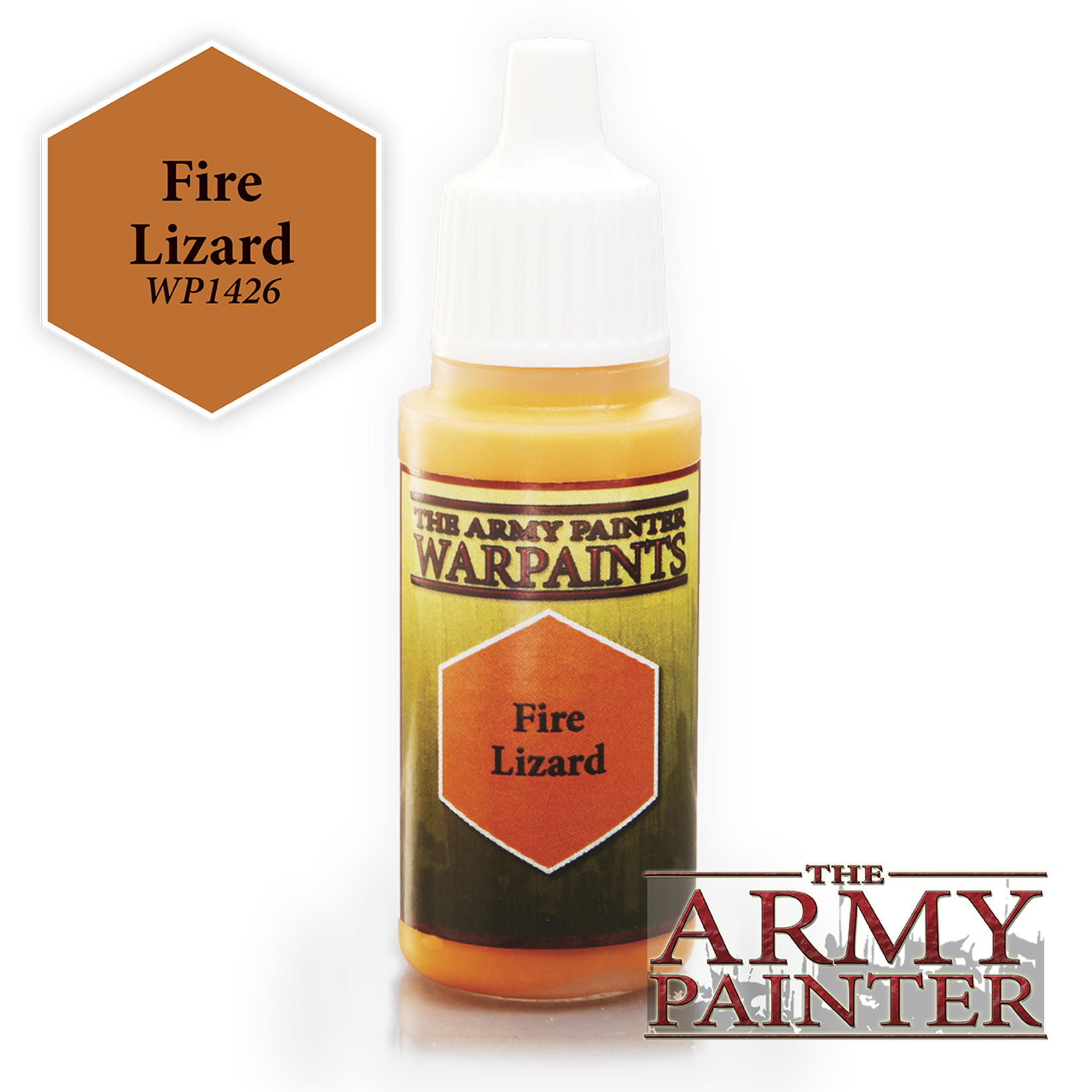 Army Painter Army Painter Warpaint Fire Lizard 18ml