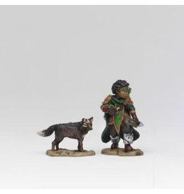WIZKIDS/NECA Wardlings Boy Ranger & Wolf W2