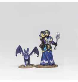 WIZKIDS/NECA Wardlings Girl Cleric & Winged Cat W2