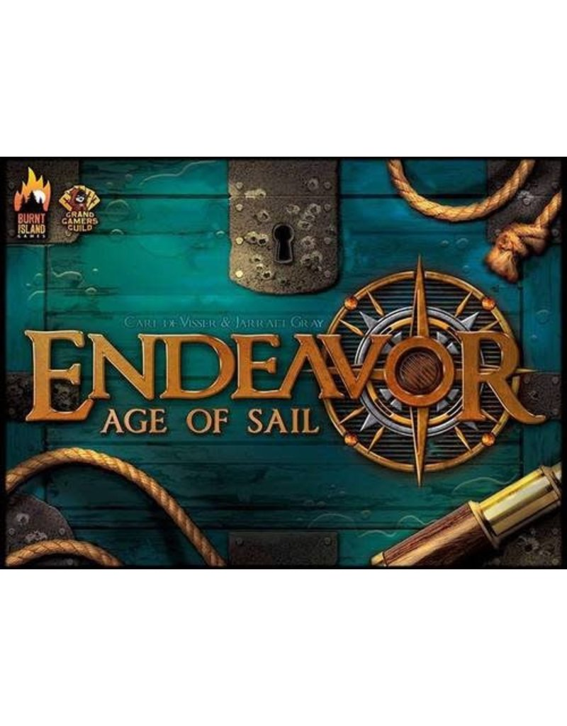 Burnt Island Games & Grand Gamers Guild Endeavor Age of Sail Base Game KS