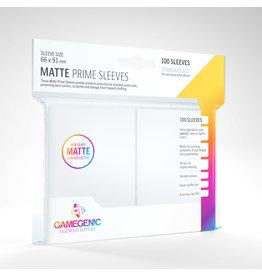 GAMEGEN!C Matte Prime Sleeves White (100) 66 x 91mm