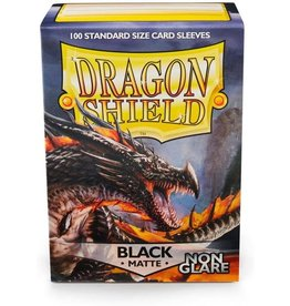 Arcane Tinmen Non Glare Matte Black Dragon Shield (100)