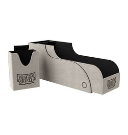 Arcane Tinmen Dragon Shield: Nest Box + Light Grey/Black