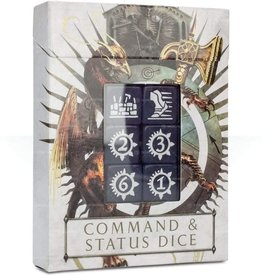 Games Workshop AoS Command & Status Dice