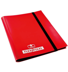 Ultimate Guard Portfolio 9-Pocket FlexXFolio Red