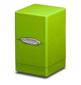 Ultra Pro DB: Satin Tower Lime Green