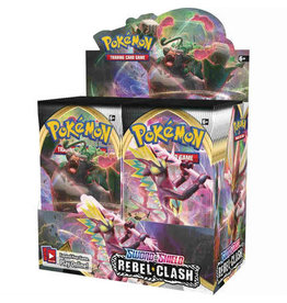 Pokemon USA Pokemon TCG S&S2 Rebel Clash Booster Display