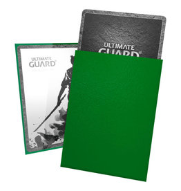 Ultimate Guard Green 100ct Katana Sleeves
