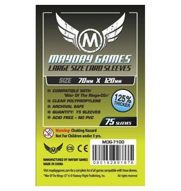 Mayday Games Large Card Sleeves (70mm x 120mm)  (75)