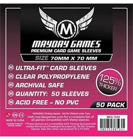 Mayday Games Square Card Sleeves (70mm x 70mm) (50)