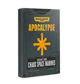 Games Workshop Chaos Apocalypse DataSheets