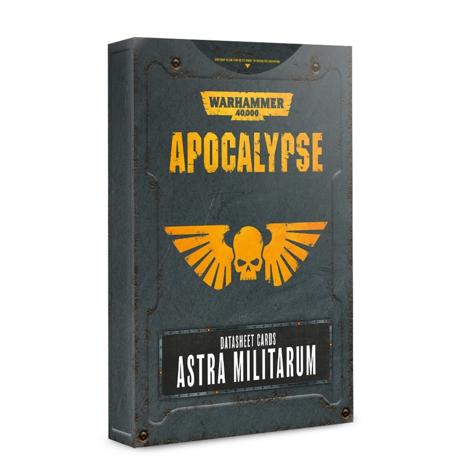 Games Workshop Astra Militarum Apocalypse DataSheets