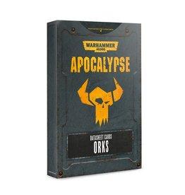 Games Workshop Orks Apocalypse DataSheets