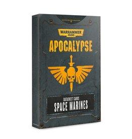 Games Workshop Space Marines Apocalypse DataSheets
