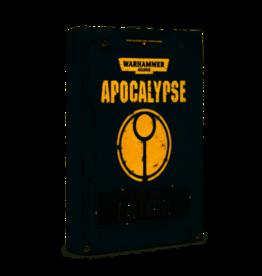 Games Workshop T'Au Empire Apocalypse DataSheets