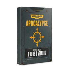 Games Workshop Chaos Deamons Apocalypse DataSheets