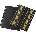 SCS Direct Inc 16Pkt Non Glare Center Load Dragon Shields 50Ct