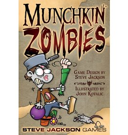 Steve Jackson Games Munchkin Zombies DEMO