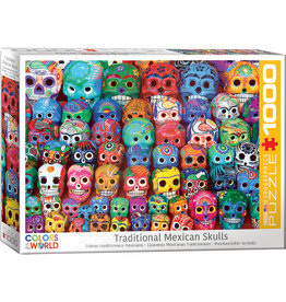 EuroGraphics Traditional Mexican Skulls 1000pc
