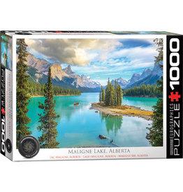 EuroGraphics Maligne Lake Alberta 1000pc
