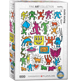 EuroGraphics Keith Haring Collage 1000pc