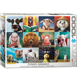 EuroGraphics Funny Animals 1000pc
