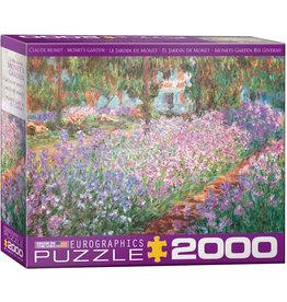 EuroGraphics Monet's Garden 2000pc