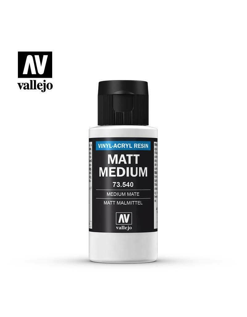 Acrylicos Vallejo Auxiliary Products: Matte Medium (60ml)