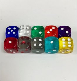 Chessex Dice Singles Small d6