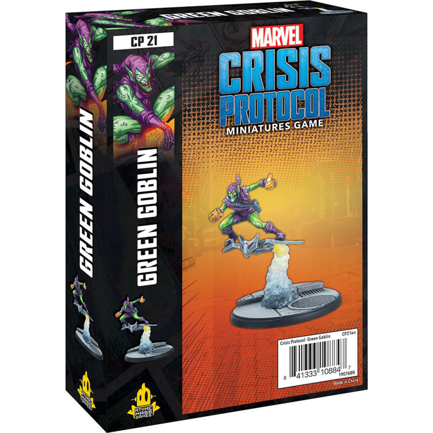 Atomic Mass Games Marvel: Crisis Protocol –  Green Goblin Character Pack