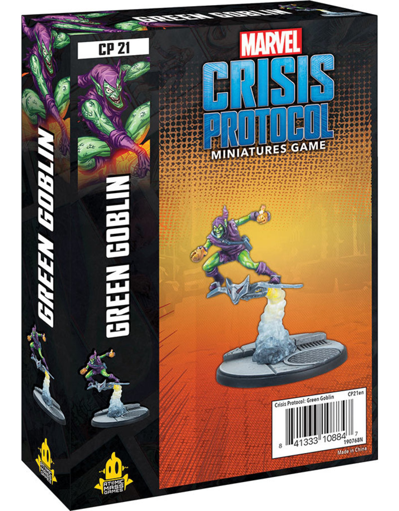Asmodee Studios Marvel: Crisis Protocol –  Green Goblin Character Pack