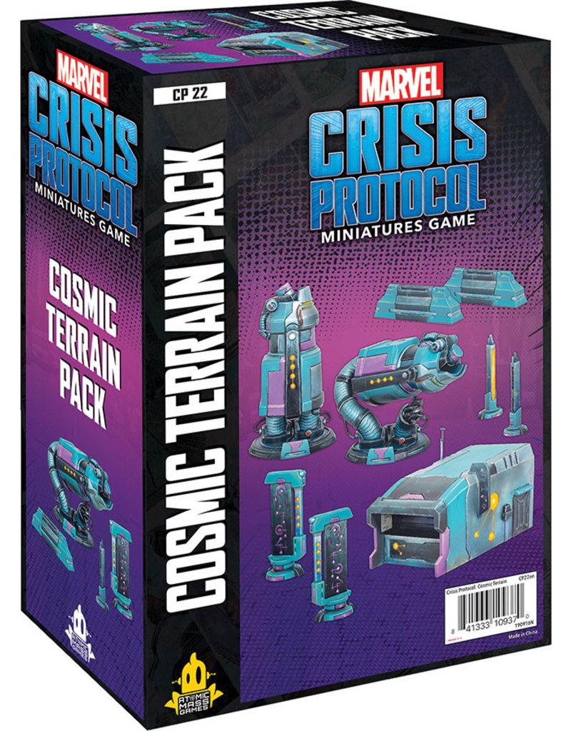 Asmodee Studios Marvel: Crisis Protocol – Cosmic Terrain Pack
