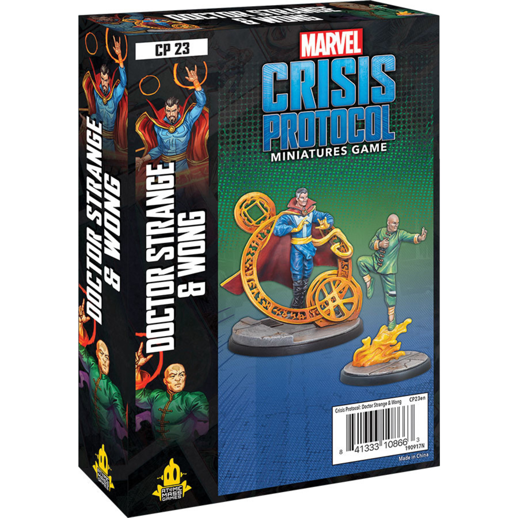 Atomic Mass Games Marvel: Crisis Protocol –  Doctor Strange and Wong Character Pack