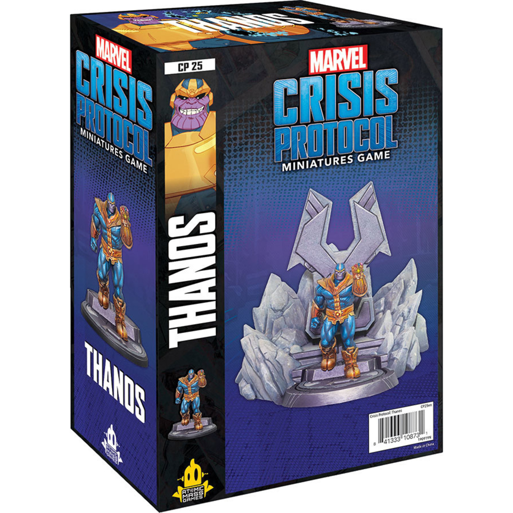 Atomic Mass Games Marvel: Crisis Protocol –  Doctor Thanos Expansion Pack
