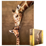 EuroGraphics Giraffe Mother's Kiss 500pc
