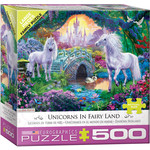 EuroGraphics Unicorn Fairy Land 500pc