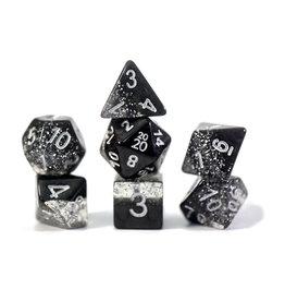 Gate Keeper Games Halfsies Glitter Black 7 set