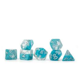 Gate Keeper Games Halfsies Glitter Aqua 7 set