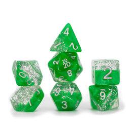 Gate Keeper Games Halfsies Glitter Green 7 set