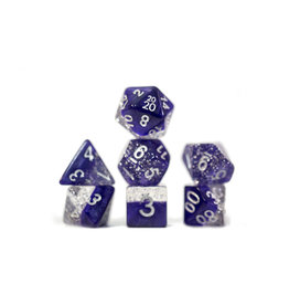 Gate Keeper Games Halfsies Glitter Purple 7 set