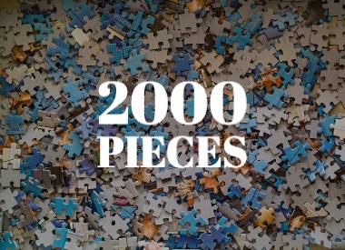 2000 Piece Puzzle