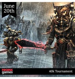 Recess 40k Team Tournament - June 20, 2020