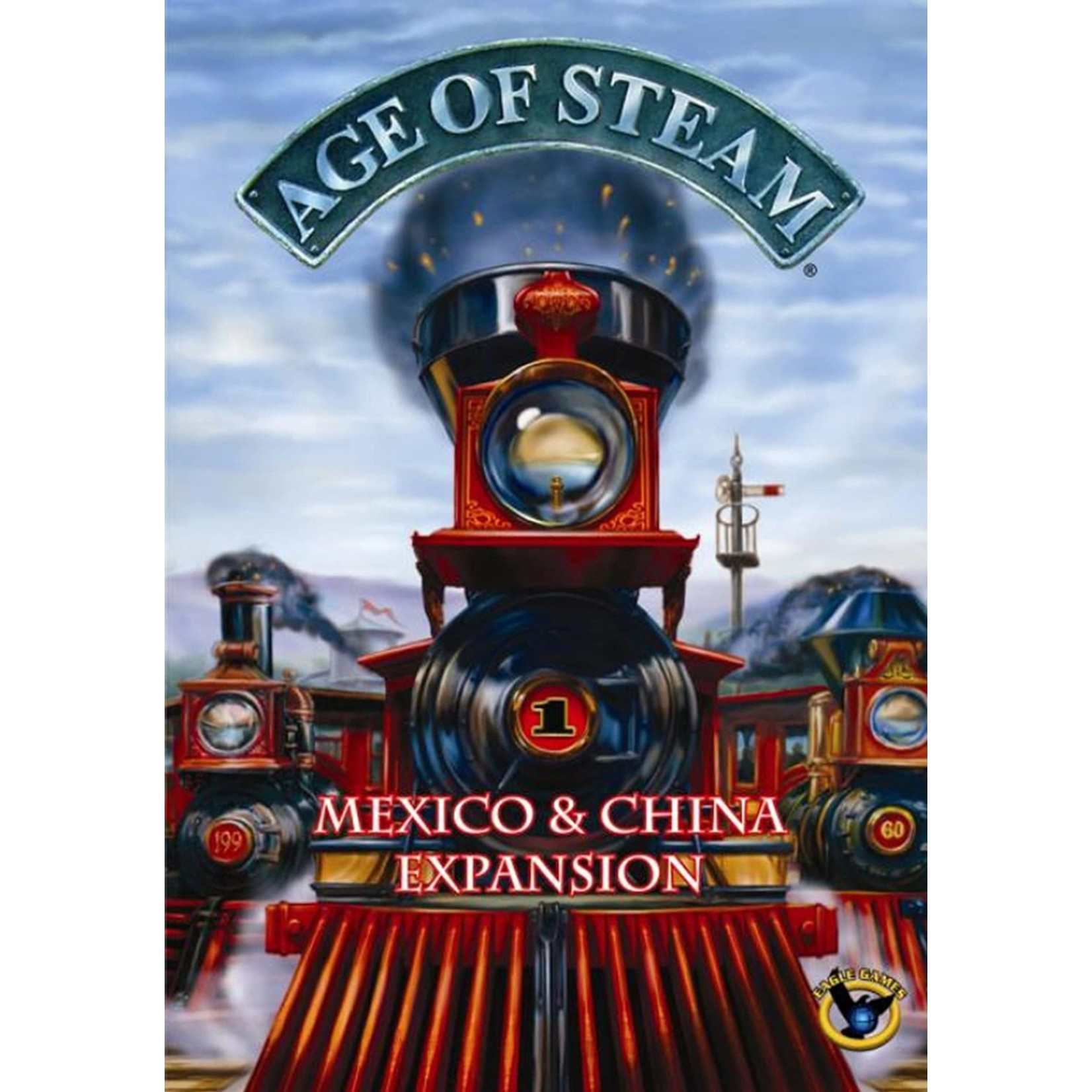 Eagle Gryphon Games Age of Steam China & Mexico Map