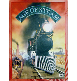 Eagle Gryphon Games Age of Steam Deluxe Pittsburg/New England/Switzerland  Map