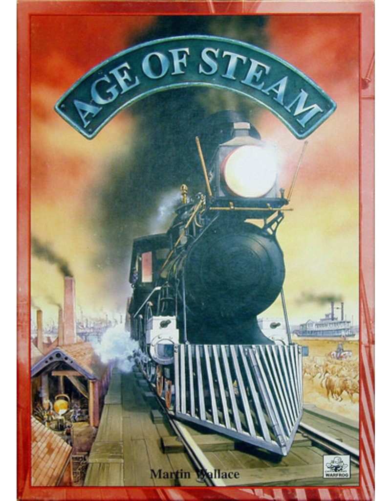 Eagle Gryphon Games Age of Steam Deluxe France/Poland Map