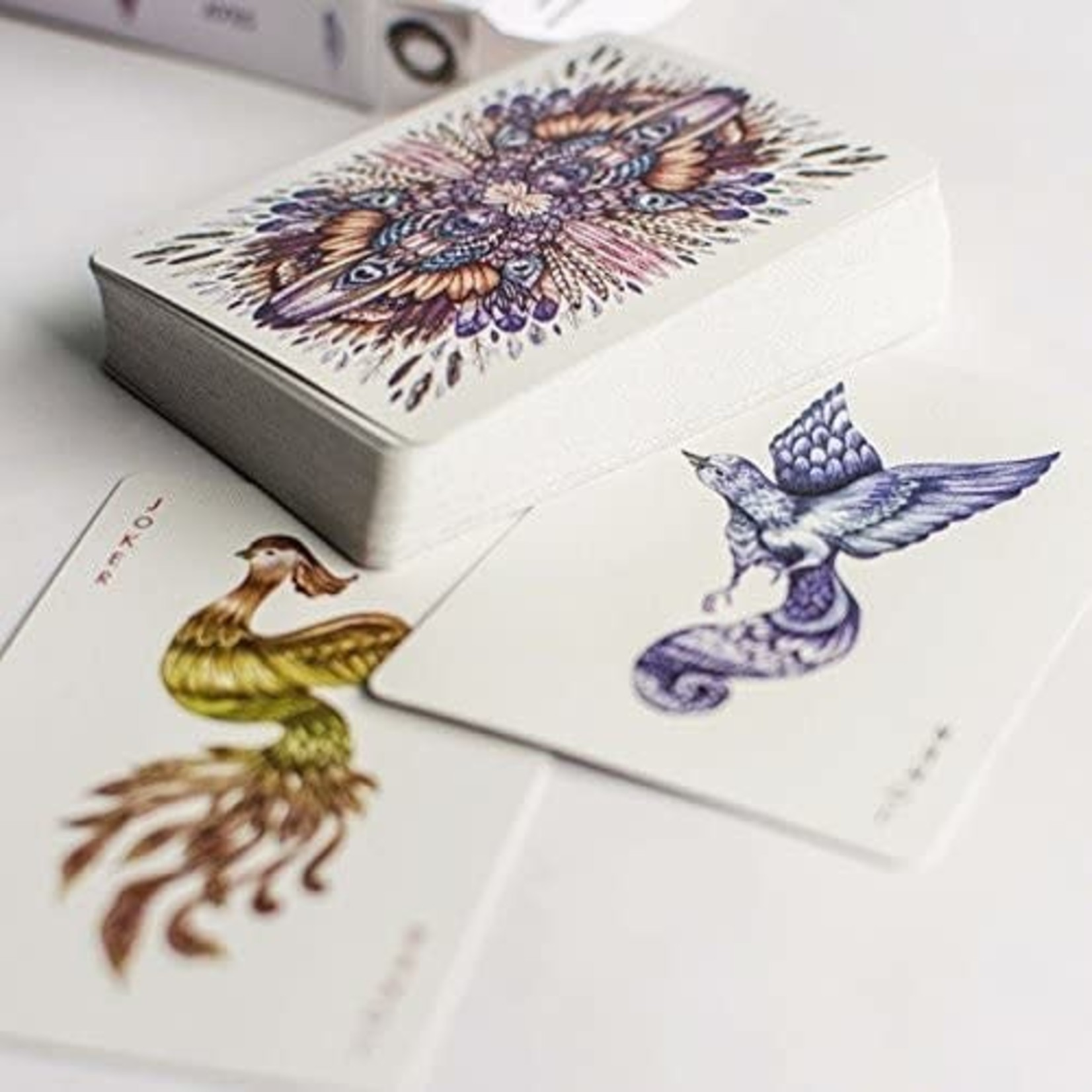 Black Forest Studio AVES Playing Cards Uncaged