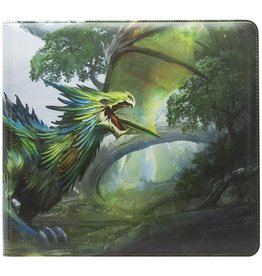 Arcane Tinmen Dragon Shield Card Codex Zipster Binder XL Olive